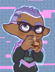 hi this is my inksona by DustyToonLink