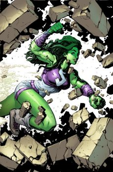 She Hulk by RyanStegman