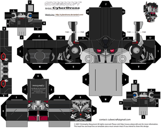 Cubee - Nemesis Prime 'Movie' by CyberDrone
