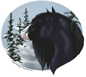 Winter Blue by ReapersMenagerie