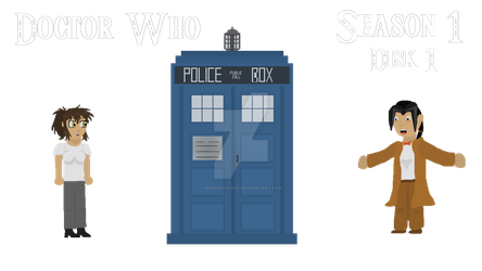 DrWho Disk1 by Demonheadge