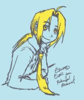 Edward Elric Being Formal by SouL00020