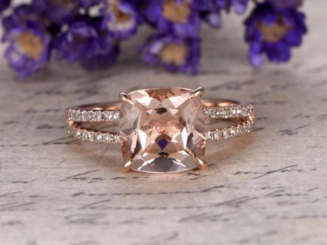 Morganite-engagement-ring by BBBGEM