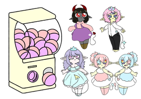 Sweet Demon Gacha (Reserve Only) by MissCotter