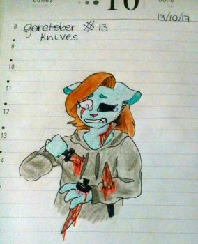 goretober day 13 by Mary-Volt-htf