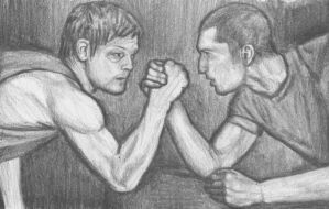 Daryl vs Shane by gagambo