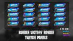 [BUNDLE] Victory Roayle - Twitch Panels by lol0verlay