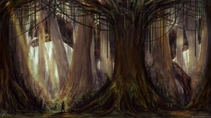 Lost World - Forest by LJHT