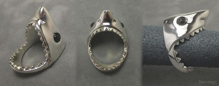 Shark ring by EagleWingGallery