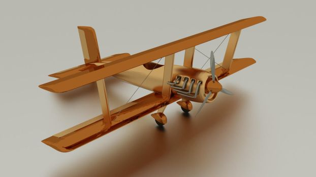 biplane front by chaitanyak