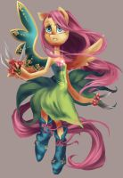 Magical Girl - Fluttershy by My-Magic-Dream