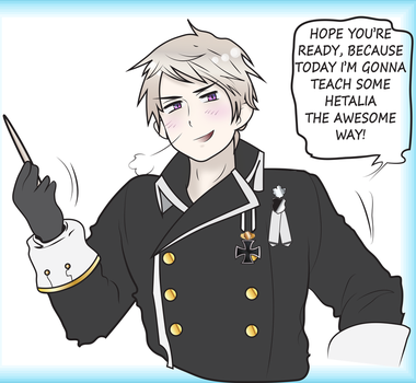 Prussia's Hetalia Character Dissection by red-stained-december