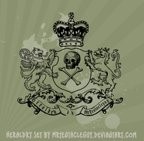 Heraldic Brushes svg by MrTentacleguy