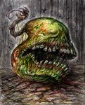The Pear Zombie of Unholy April by RavenCorona