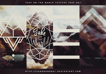 Take on the World   Texture Pack #07 by sandranoqui