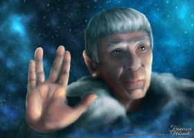 Farewell to Leonard Nimoy by nime080