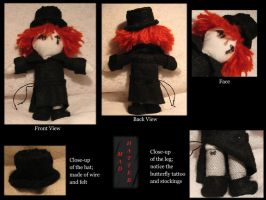 Mad Hatter - Belial Plush by MarlinGrey