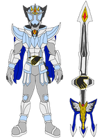 Kamen Rider Astral Aeon Form by SoraWolf7