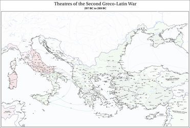 MoTF 128 - Theatres of the Second Greco-Latin War by Upvoteanthology