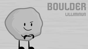 Object Commissions #24: Boulder by FusionAnimations117
