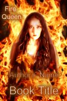 Fire Queen Bookcover by CelticAngel84