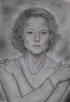 Jodie Foster by ArtIsLife88