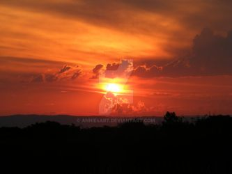 South African sunset by annie4art