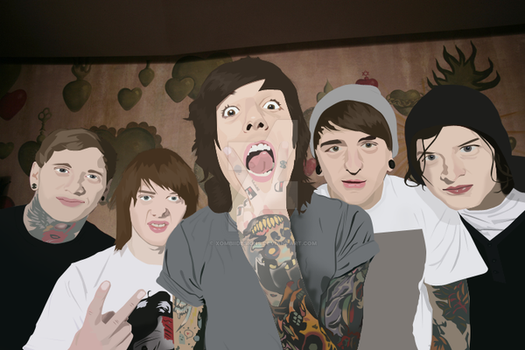 BMTH Vector by XombiiDesigns