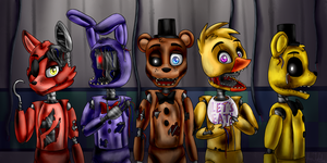 Broken, Old, Forgotten (Five Nights at Freddy's 2) by ArtyJoyful