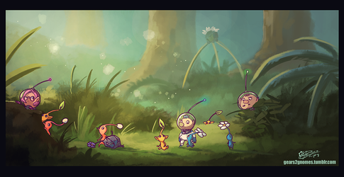 SGDQ2018 - Pikmin3 by knight-mj