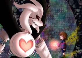 Undertale: Angel of Death and of Hope by KikyoYuuki