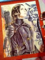 The Hunger Games: Katniss Everdeen The Mockingjay by bethanyXD