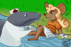Nurse Shark by p0cketpainter