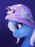 Magicians assistant by smallhorsis