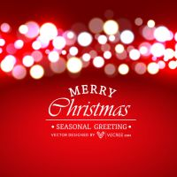 Christmas Lights Free Vector by vecree