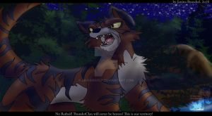 Into the Wild - Loyal ThunderClan Warrior by JB-Pawstep
