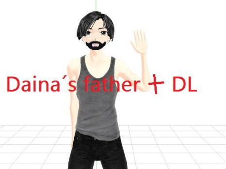 Father of Daina MMD +DL by TsubasaK