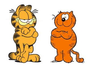 Secret Twins: Garfield and Heathcliff by Austria-Man