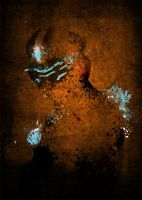 Paint Splatter Dead Space by Arian-Noveir
