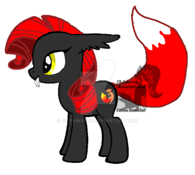 Ember Firetail by JB-Pawstep