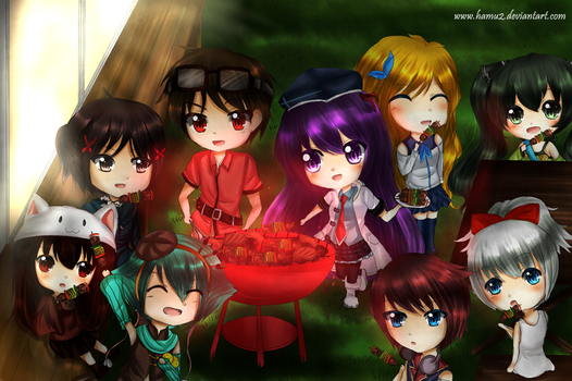 MOE: BBQ for You by hamu2