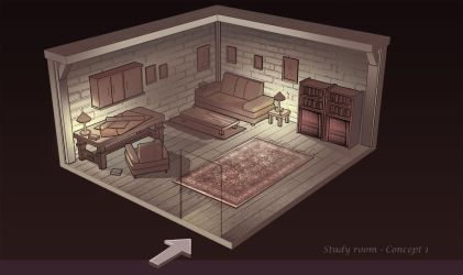 Study room Concept I by Remidubois
