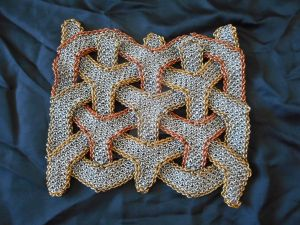2018 Chainmaille Quilt Entry: 3-Layer Isometric by imsogreen