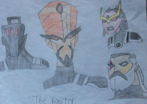 I Drew The Rooters by PhantomEvil