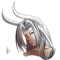 .: Demon Sephiroth :. by chinensisXIII