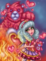 Sweetheart Annie League of Legends by JamilSC11