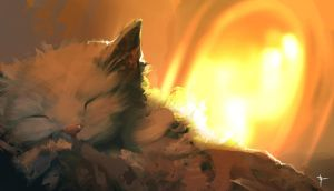 The cats of Ulthar by Vindrea