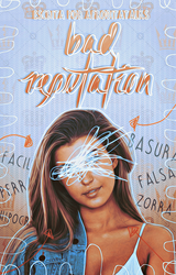 Bad Reputation, wattpad cover. by larriereligion