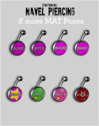 8 MATs Navel Piercing for V4 by inception8-Resource