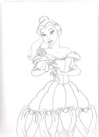 princess belle by doremi1608